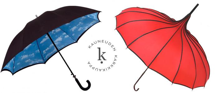 Isot sateenvarjot